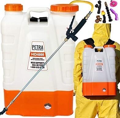 Battery Backpack Sprayer - Fogger Alternative