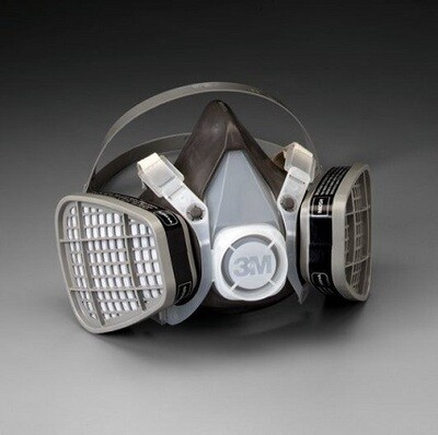 3M™ Half Facepiece Disposable Respirator Assembly - Large