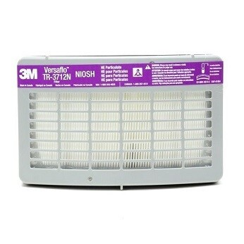 3M™ HE Filter TR-3712N, for Versaflo™ TR-300 Series PAPR