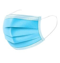 3-Ply Disposable Face Mask with Earloop (50pk)