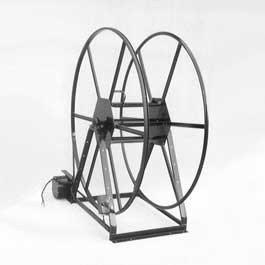 300' Vacuum Hose Reel by Rokan - Electric