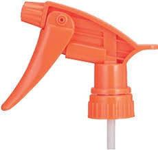 Orange Trigger Sprayer Head - Water Base