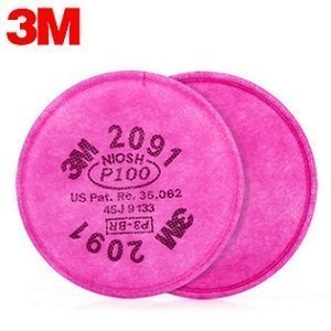 3M™ Particulate Filter 2091 - P100