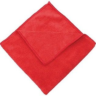 Red Microfiber Towel  | 16X16