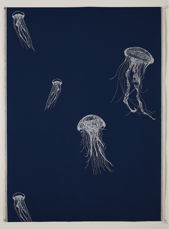 Sea Jelly Wallpaper (One Roll: 52 cm x 10 m )