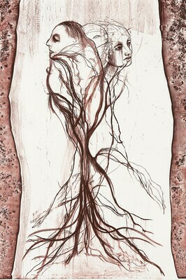 Mater (Tree) - Lithograph