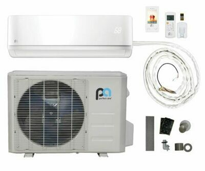 Perfect Aire 12000 BTU DIY Quick Connect Mini Split -17.5 SEER -115 Volt  - WIFI Capable