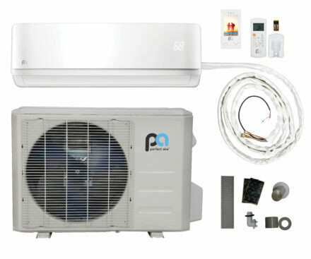 Perfect Aire 18000 BTU Quick Connect DIY Mini Split - 16 SEER  -230 Volt- WIFI Capable