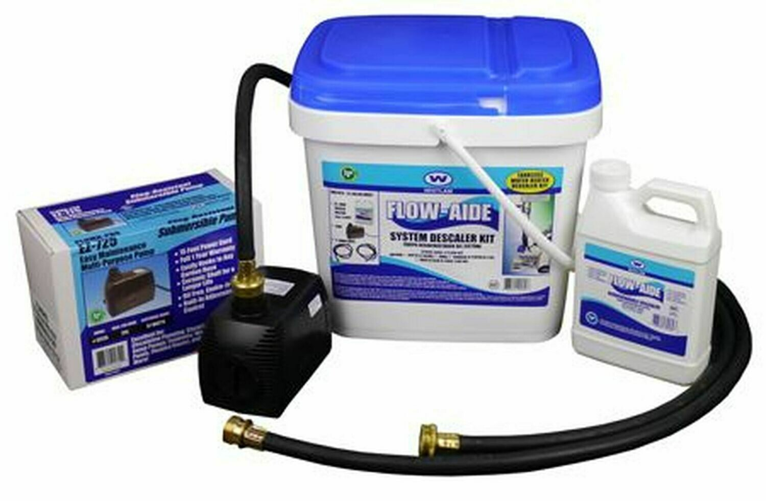 Whitlam Flo-Aid Descaler Cleaning Kit
