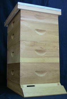 8 Frame Hive Kit Assembled #1 Lumber Kit