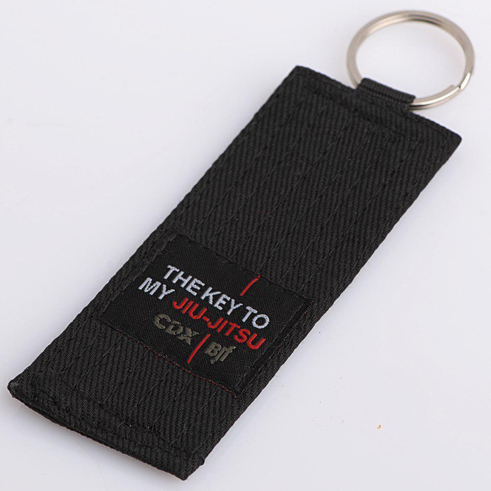 "Rank keychain ""The Key to my Jiu Jitsu"""