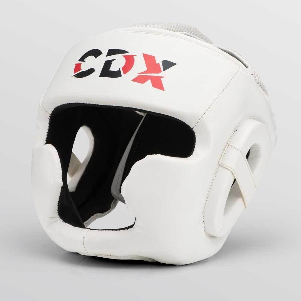 CDX Boxing Head Guard White