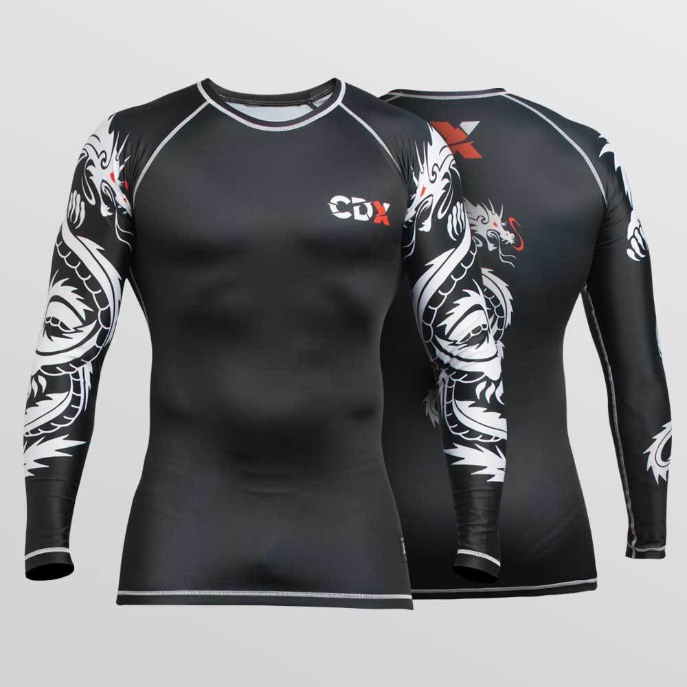 "Compression Rash Guard ""Dragon"" Style"