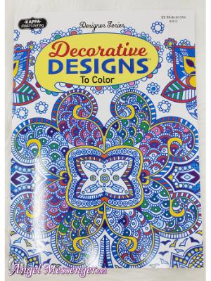 Decorative Designs Coloring Book