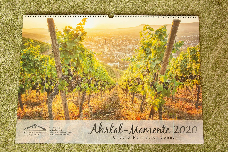"Monatskalender ""Ahrtal Momente"" 2020 - kompaktes A3 Format"