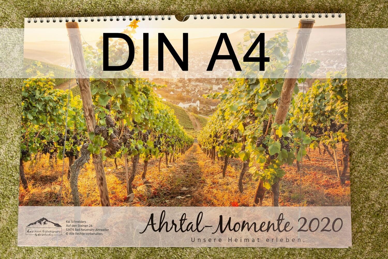 "Monatskalender ""Ahrtal Momente"" 2020 - kleines A4-Format"
