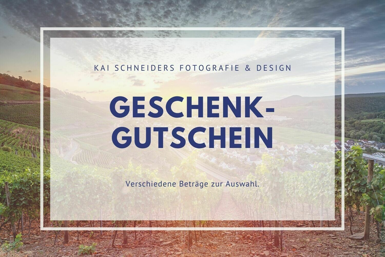 Gutschein (Betrag wählbar)