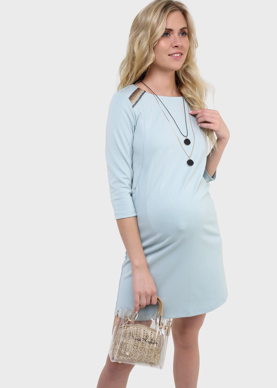 """Платье """"Ферн"""" для беременных и кормящих, селадон"""