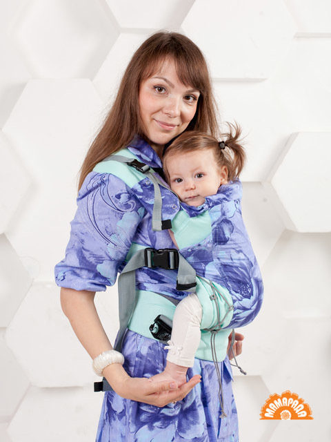 "МАМАРАДА.  Эрго-рюкзак ""Лаванда"", размер 42-52"