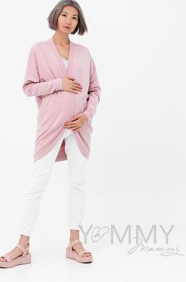 Y@mmy Mammy. Жакет с карманами пыльно-розовый