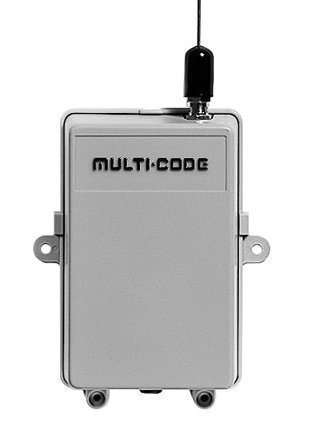 302850 Multi-Code One Gate Dual Frequency Receiver, 12-24vac