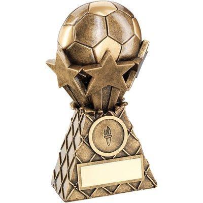 BRZ/GOLD FOOTBALL & STARS NET BURST