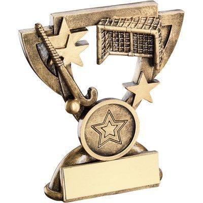BRZ/GOLD HOCKEY MINI CUP
