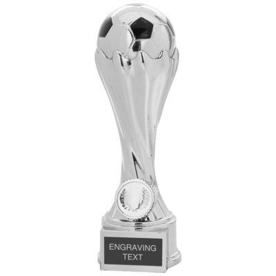 Superb Chrome Finish Heavyweight Football Award