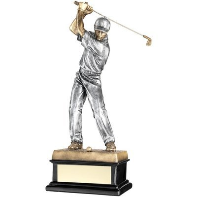 Resin Male Golfer 14Inch New for 2018