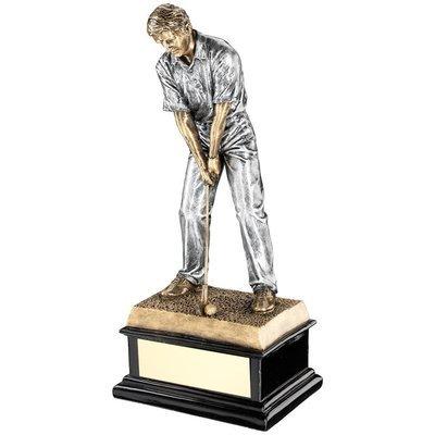Resin Male Golf Award 12.5 Inch high