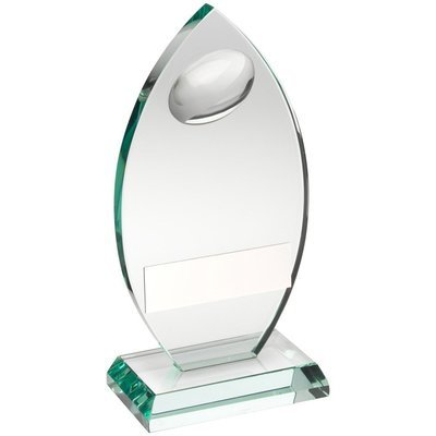 Jade Glass Rugby Award
