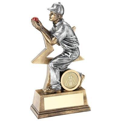 Male Fielder Award 7 Inch Tall