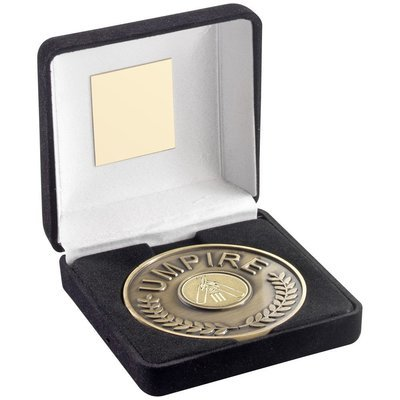 Umpire Medal & Box