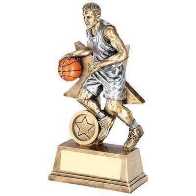 Resin Male Basketball Award