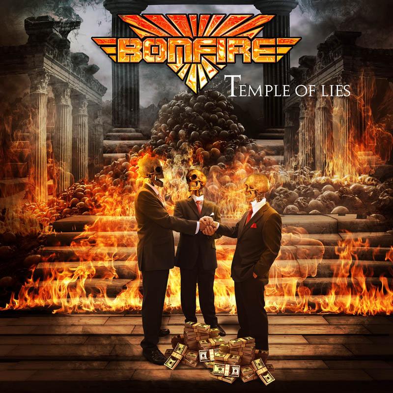 BONFIRE - Temple Of Lies - CD Jewelcase