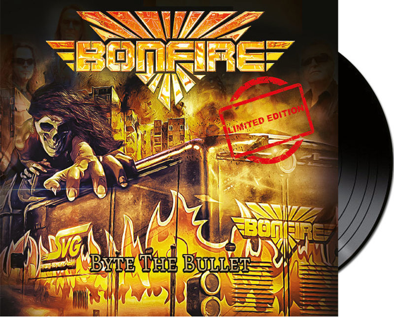 "Vinyl - BONFIRE ""Byte The Bullet"""