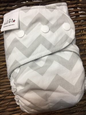 Snap In One-Chevron (Newborn)