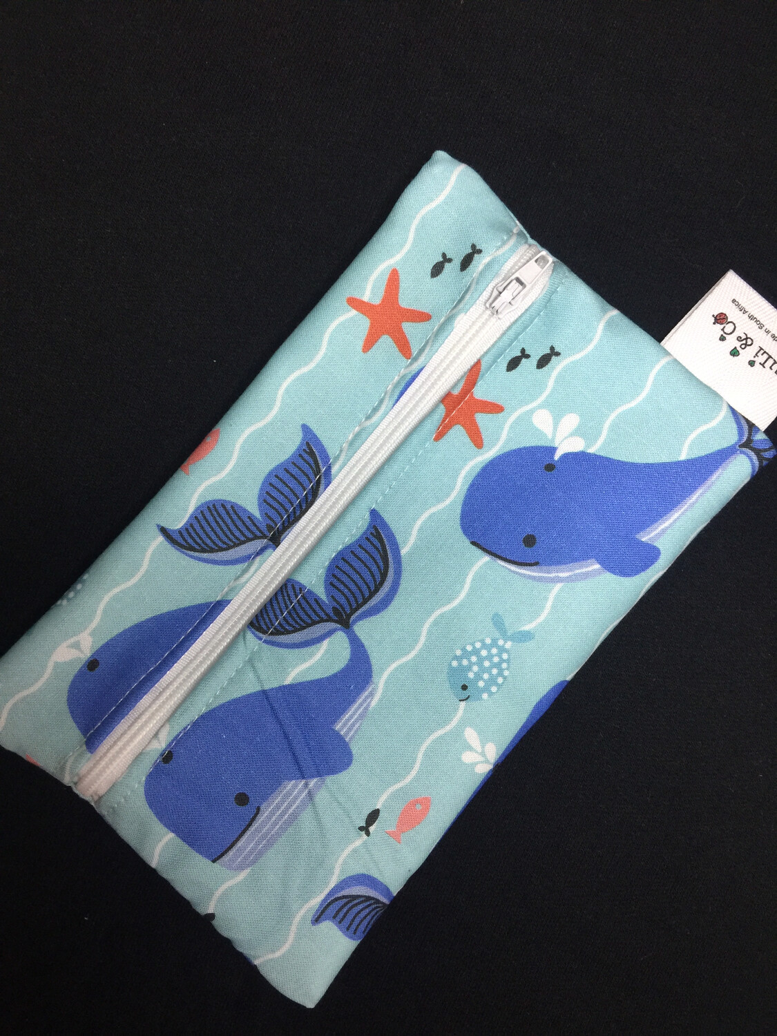 Ladycloth Wetbag-Whales