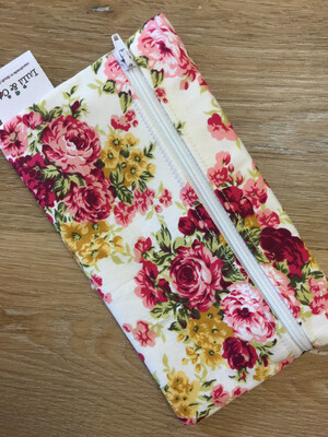 Ladycloth Wetbag-Red Floral