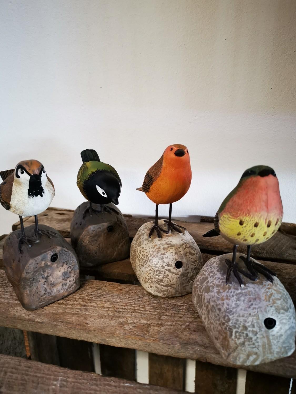 Sensor Vogel met geluid