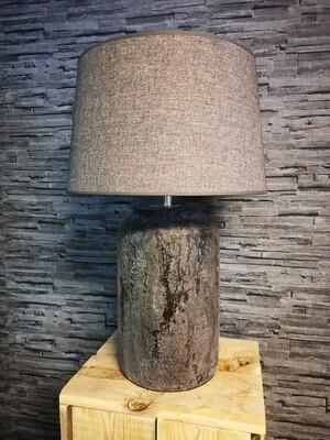 Tafellamp Donker grijs incl kap