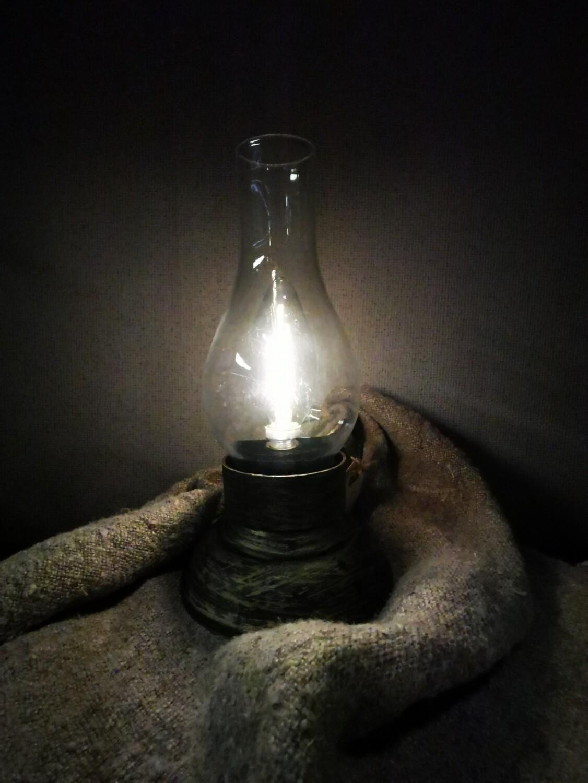 LED lantaarn op batterij
