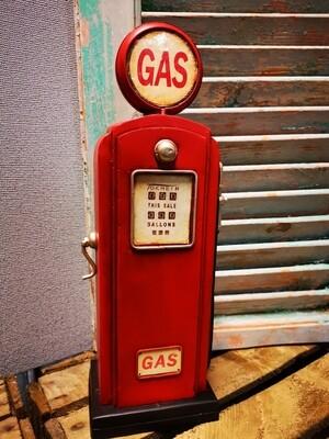 Spaarpot benzinepomp rood