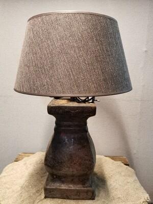 Tafellamp choco  incl kap