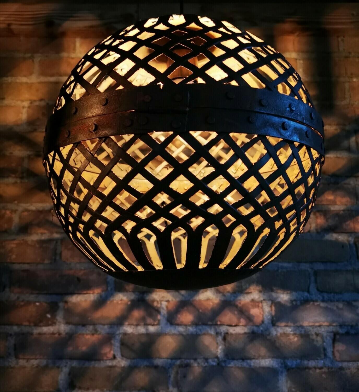 Hanglamp metalen bal M