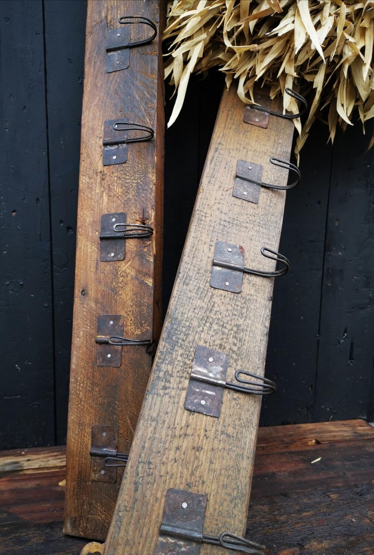 Kapstok oud hout