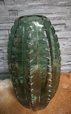 Glazen vaas cactus L