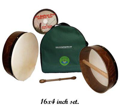 16 inch Beginners Bodhran Set