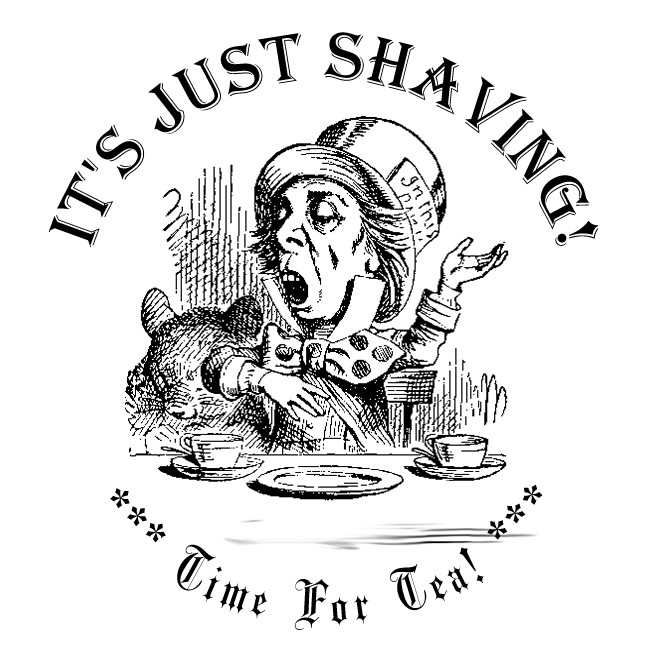 "It's Just Shaving ""Time For Tea!"" - Black Tea, Bergamot. - 2 oz. Soap + 2 oz. Aftershave Splash"