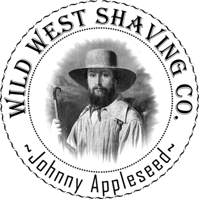 Johnny Appleseed Shaving Soap - Apple Cider, Tobacco, Wood Smoke, Fern.
